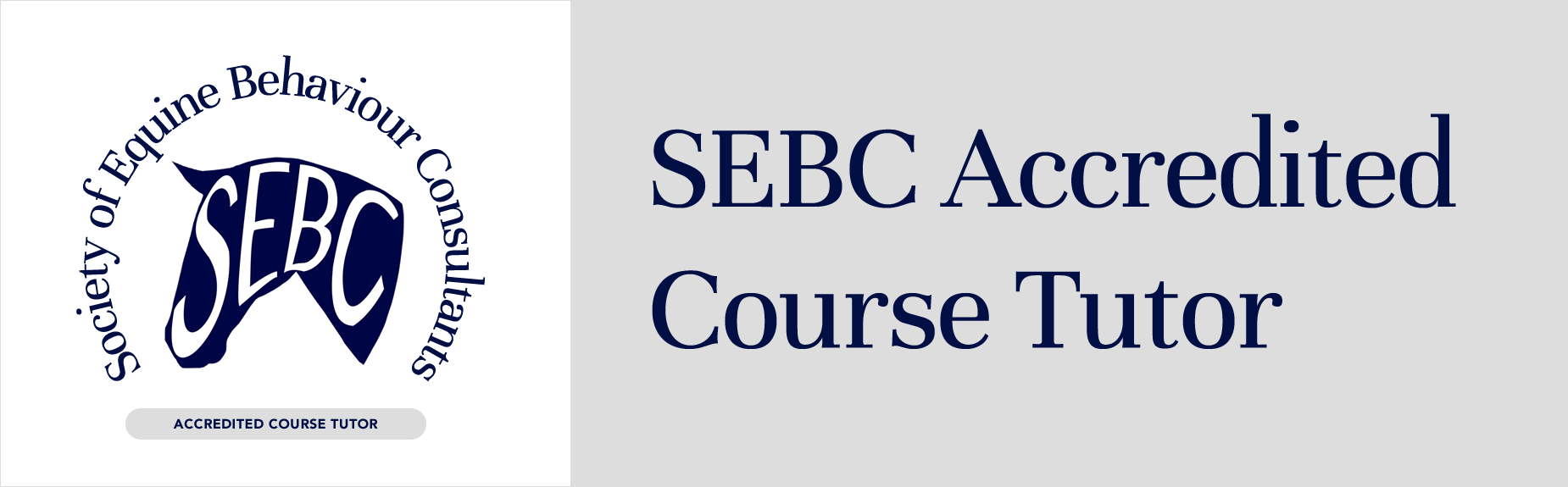 SEBC Registered Trainer